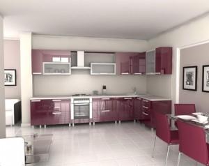 Tủ Bếp Gỗ Rẻ Đẹp 082D