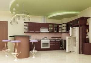 Tủ Bếp Gỗ Rẻ Đẹp 083D