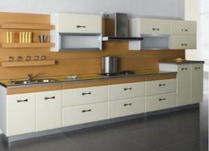 Tủ Bếp Gỗ Rẻ Đẹp 084D