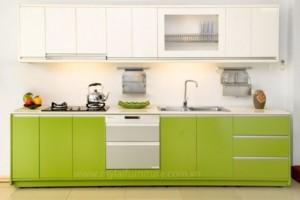 Tủ Bếp Gỗ Rẻ Đẹp 085D
