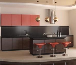Tủ Bếp Gỗ Rẻ Đẹp 086D