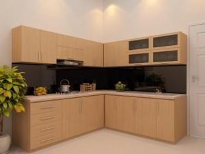 Tủ Bếp Gỗ Rẻ Đẹp 088D