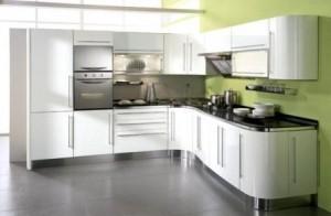 Tủ Bếp Gỗ Rẻ Đẹp 093D