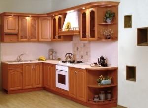Tủ Bếp Gỗ Rẻ Đẹp 094D