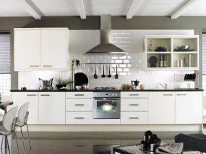 Tủ Bếp Gỗ Rẻ Đẹp 097D