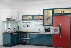 Tủ bếp Công Nghiệp 001C