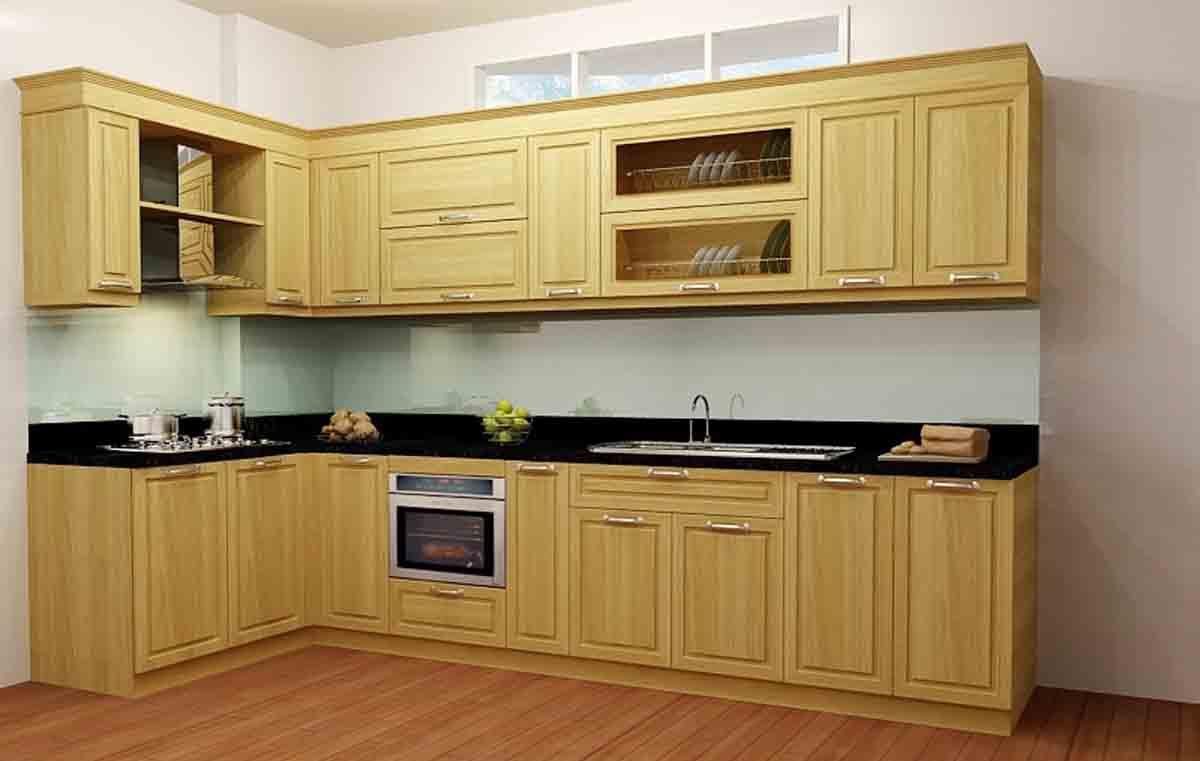Tủ bếp gỗ giá rẻ