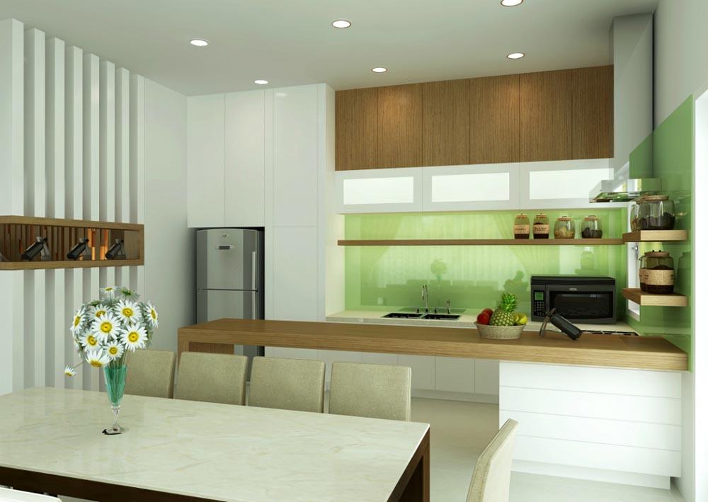 Nội thất nhà bếp rẻ đẹp tại TPHCM 12