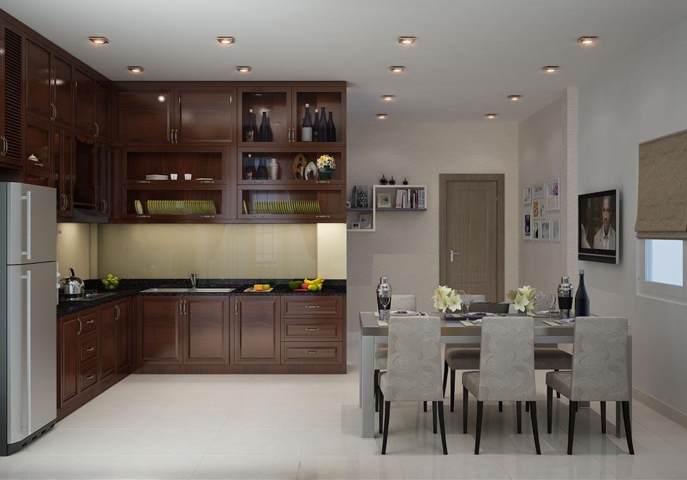 Nội thất nhà bếp rẻ đẹp tại TPHCM 7