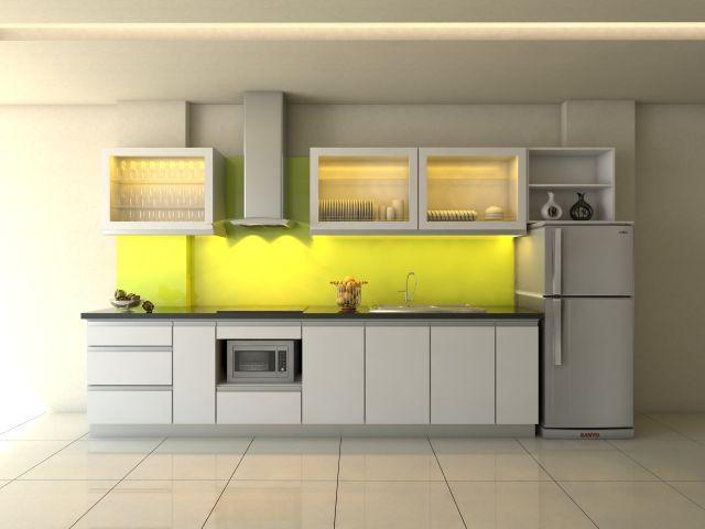 Mẫu tủ bếp hiện đại 9