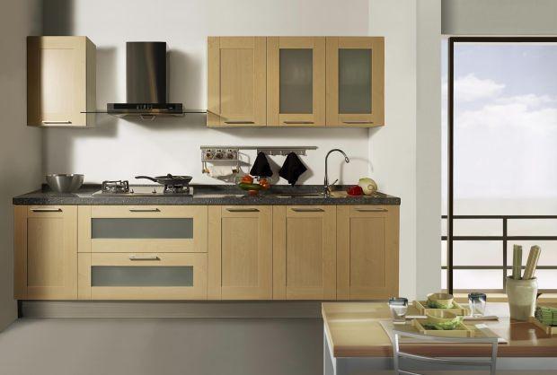 Mẫu tủ bếp hiện đại 12