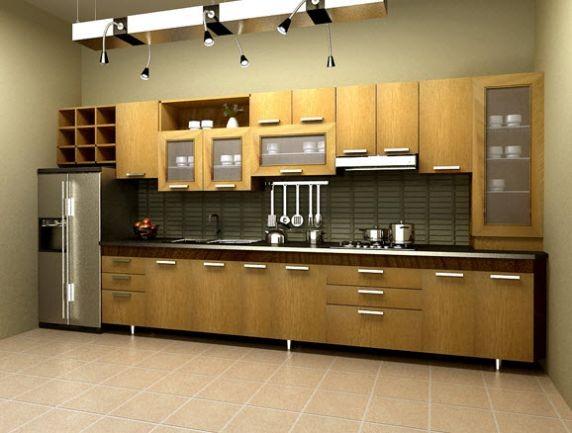 Mẫu tủ bếp hiện đại 14