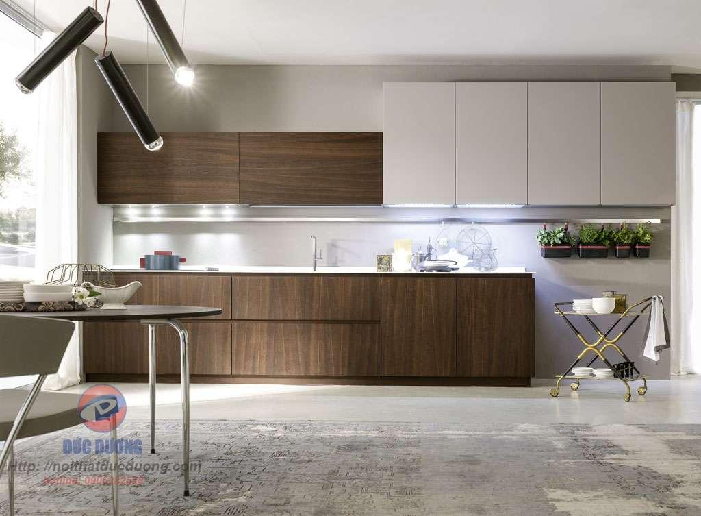 Mẫu tủ bếp hiện đại 17
