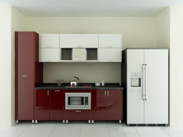 Mẫu tủ bếp hiện đại 8
