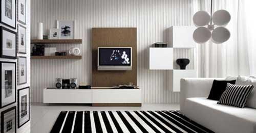 Tủ trang trí phòng khách