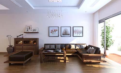 Đồ gỗ nội thất nhà phố 60