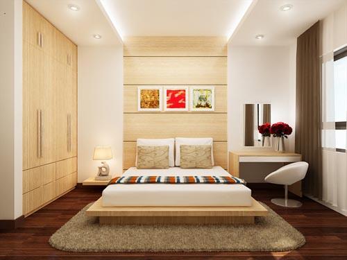 Trang trí nội thất phòng ngủ giá rẻ
