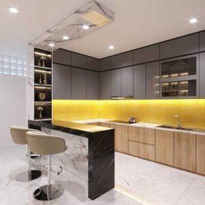 Nội thất nhà bếp đẹp 001 tại thuận thiên