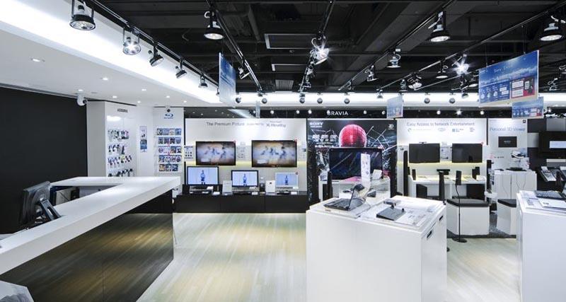 Thiết kế nội thất cửa hàng 2