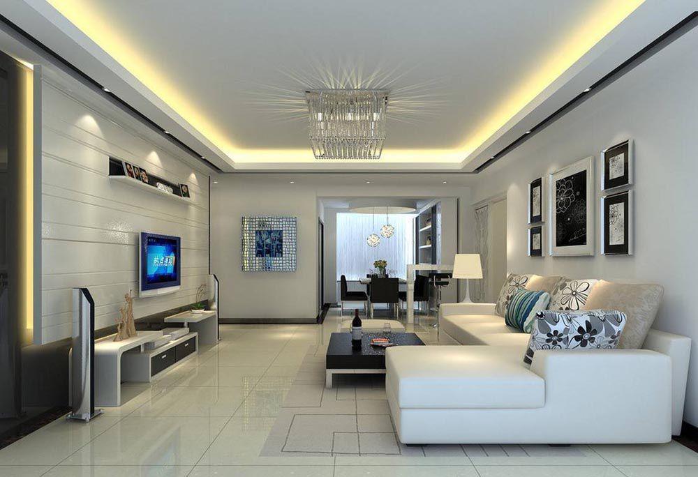 Trang trí phòng khách đẹp giá rẻ 003