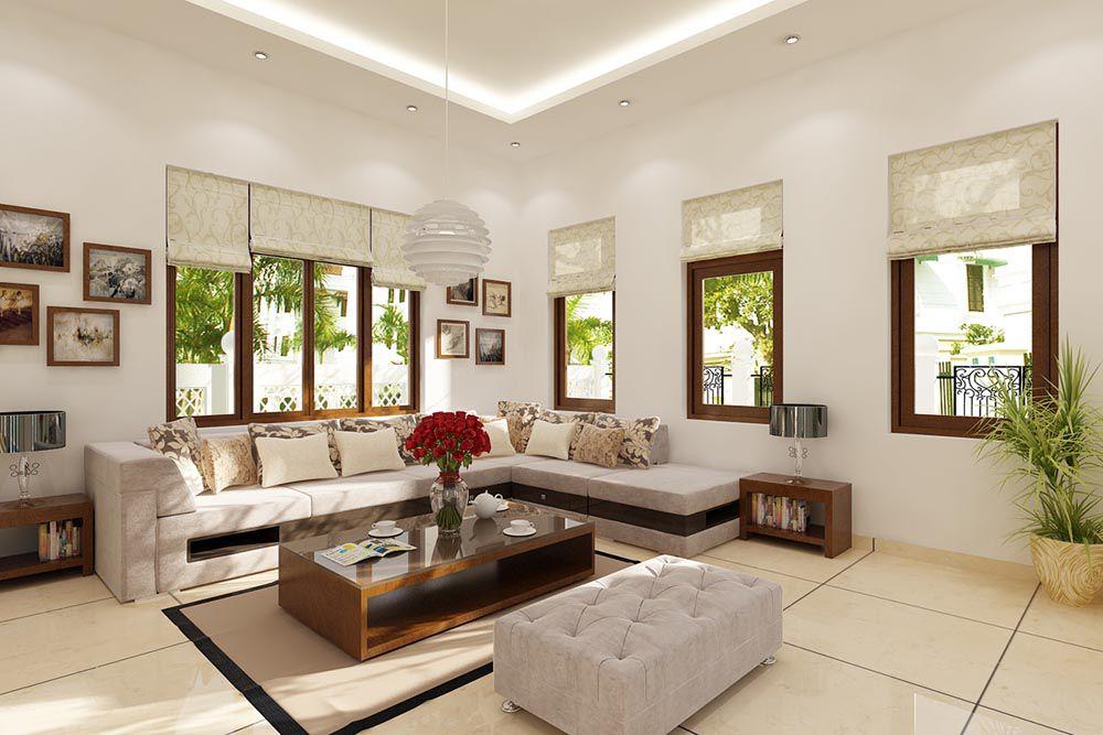 Trang trí phòng khách đẹp giá rẻ 007