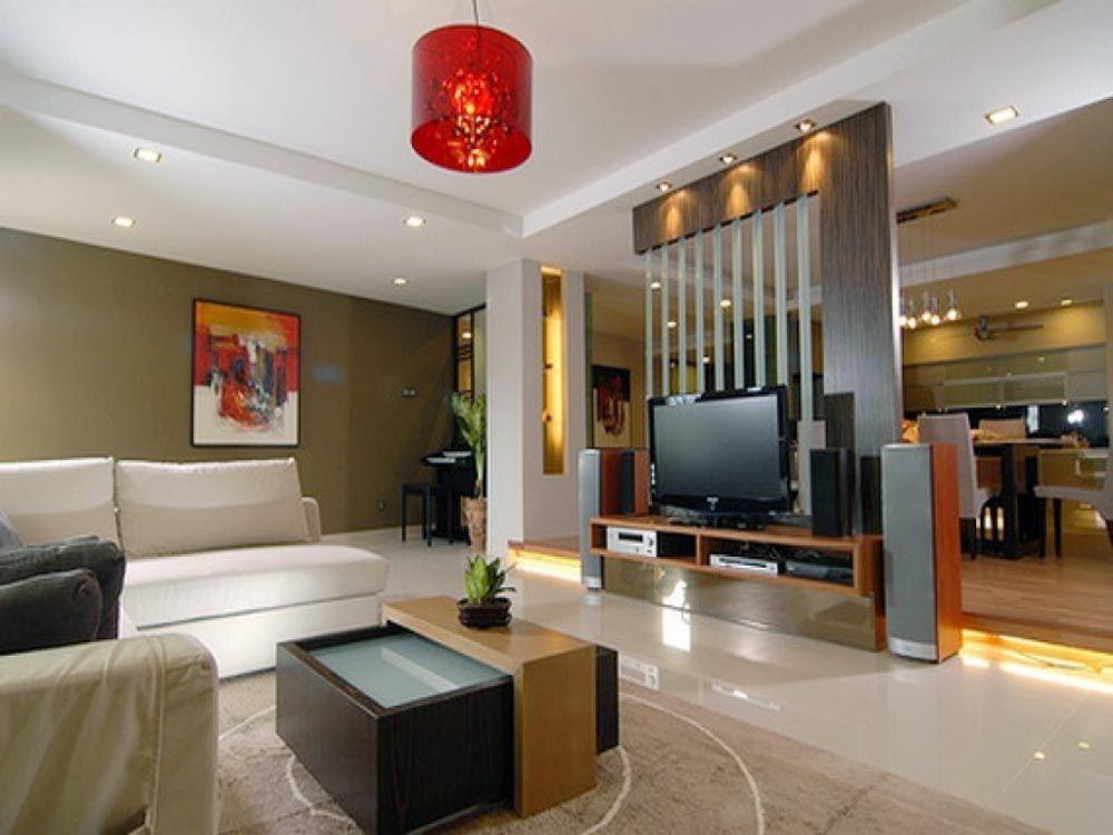 Trang trí phòng khách đẹp giá rẻ 009