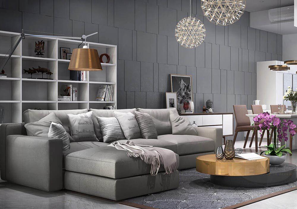 Trang trí phòng khách đẹp giá rẻ 012