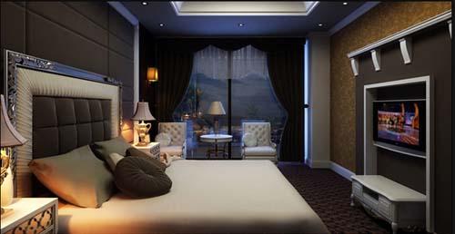 Đồ gỗ hóc môn phòng ngủ 028