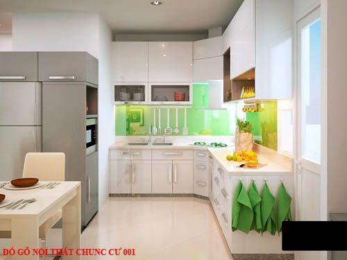 Đồ gỗ nội thất chung cư 001