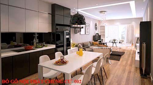 Đồ gỗ nội thất chung cư 002