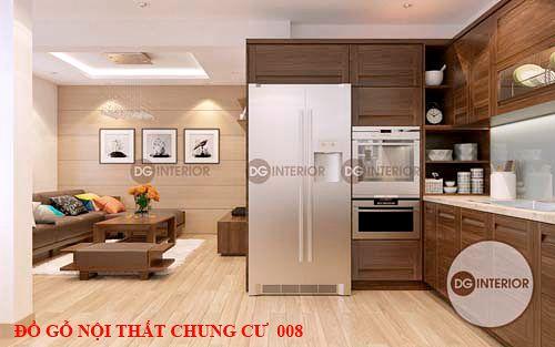 Đồ gỗ nội thất chung cư 008