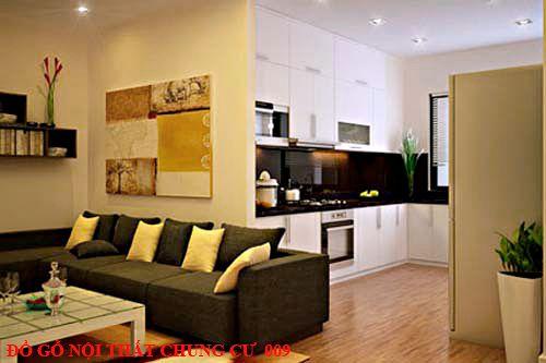 Đồ gỗ nội thất chung cư 009
