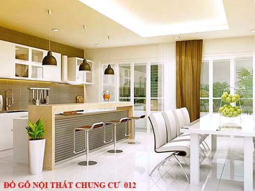 Đồ gỗ nội thất chung cư 012