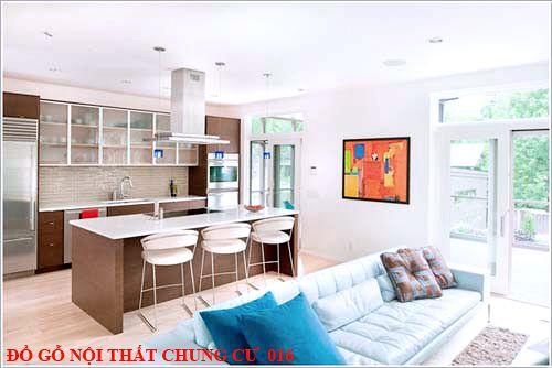 Đồ gỗ nội thất chung cư 016