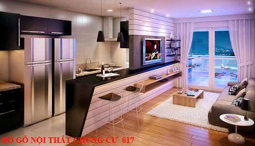 Đồ gỗ nội thất chung cư 017