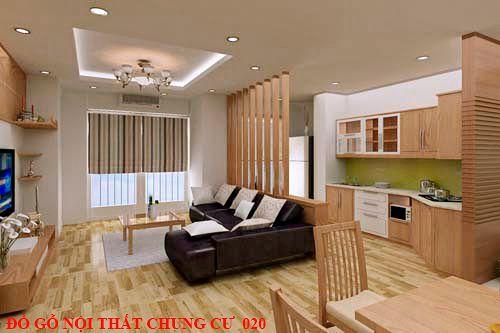 Đồ gỗ nội thất chung cư 020