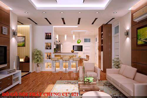 Đồ gỗ nội thất chung cư 021