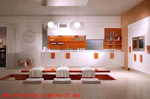 Đồ gỗ nội thất chung cư 040