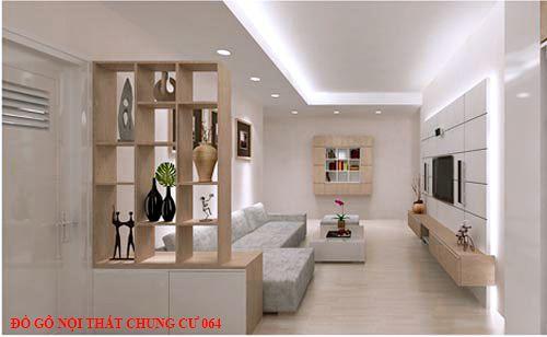 Đồ gỗ nội thất chung cư 064