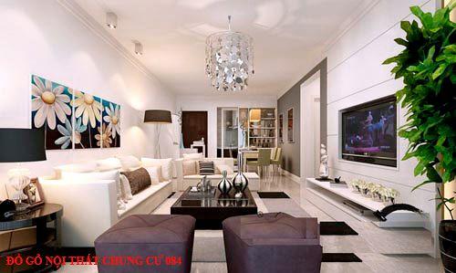 Đồ gỗ nội thất chung cư 084