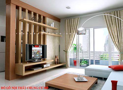 Đồ gỗ nội thất chung cư 089