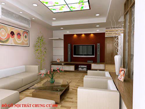 Đồ gỗ nội thất chung cư 090