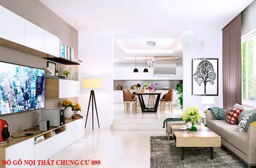 Đồ gỗ nội thất chung cư 099