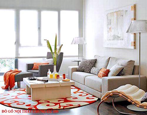 Đồ gỗ nội thất chung cư 100