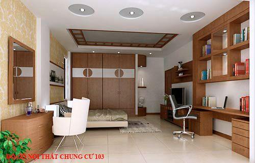 Đồ gỗ nội thất chung cư 103