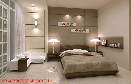 Đồ gỗ nội thất chung cư 110