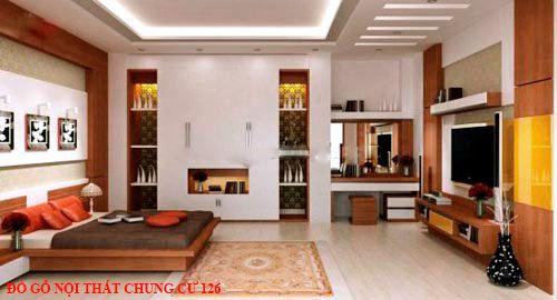 Đồ gỗ nội thất chung cư 126