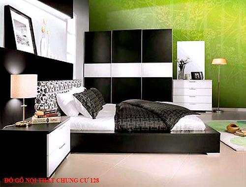 Đồ gỗ nội thất chung cư 128