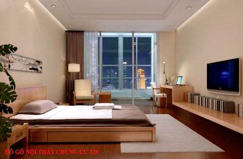 Đồ gỗ nội thất chung cư 129