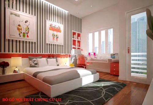Đồ gỗ nội thất chung cư 132